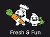 logo fresh and fun