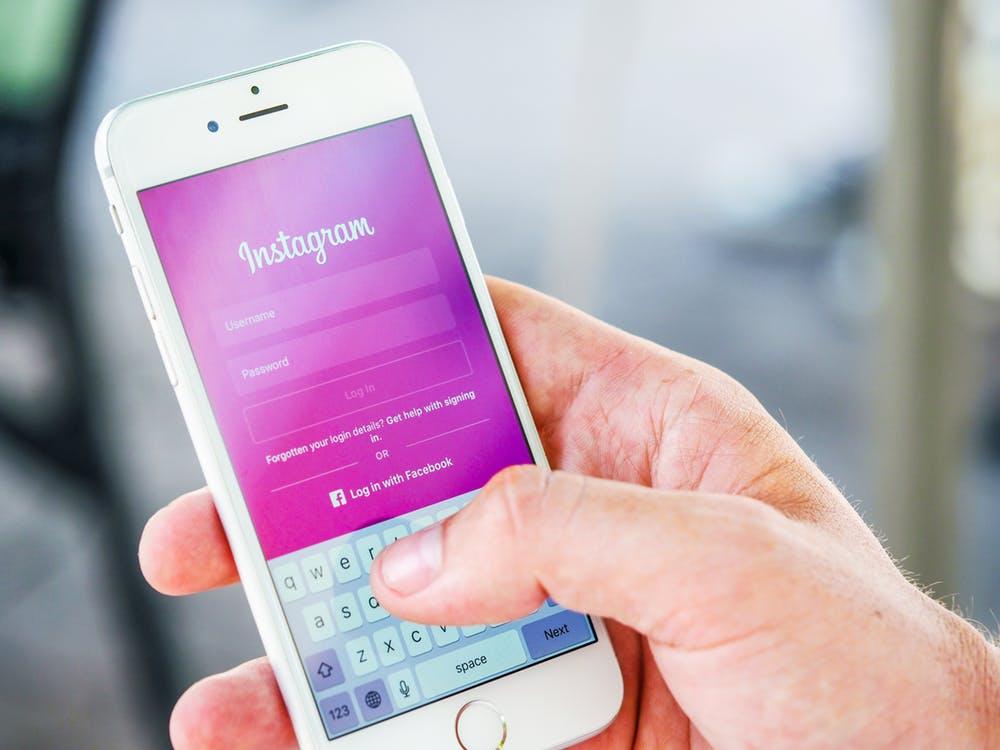 aplikacja Instagram na telefonie