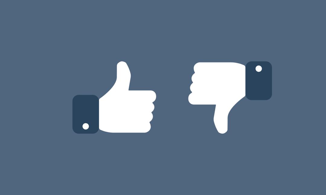 kciuk w górę, kciuk w dół, polubienie, akich postów nie zamieszczać na facebooku i instagramie?